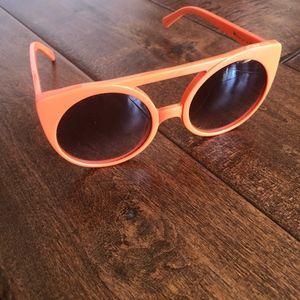 Orange KAREN WALKER sunglasses